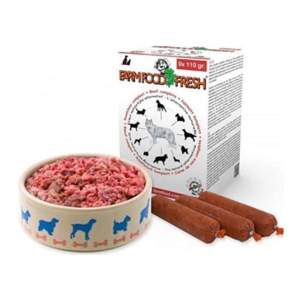 Morsink Dier & Hobby - Farm Food Rundvlees compleet 9 x110 gram