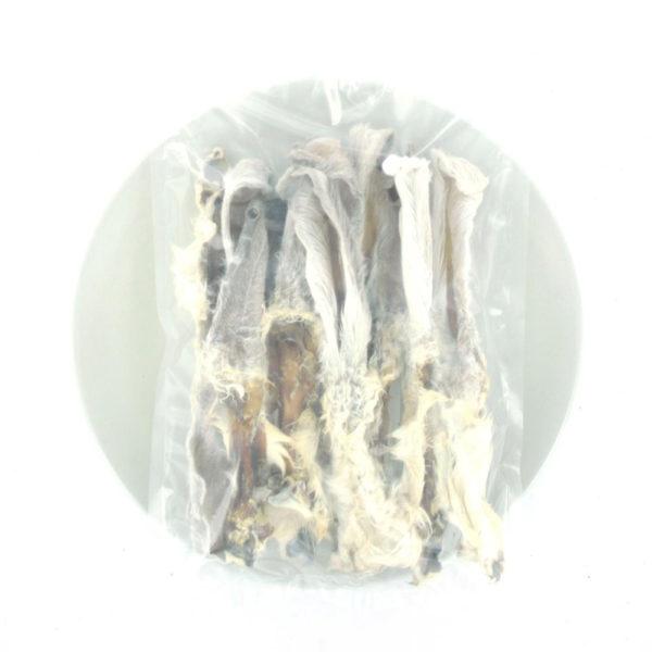 Morsink Dier & Hobby - Konijnenoren met vacht 100 GRAM