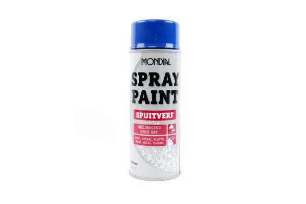 Morsink Dier & Hobby - MONDIAL SPRAY PAINT RAL 5010 HG ENZIAN BLUE