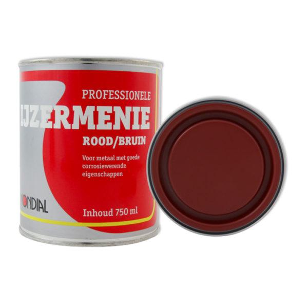 Morsink Dier & Hobby - Mondial IJzermenie rood bruin