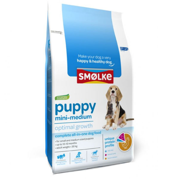 Morsink Dier & Hobby - Smolke puppy mini medium 3 kg