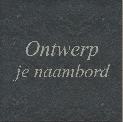 Morsink Dier & Hobby - Naambord