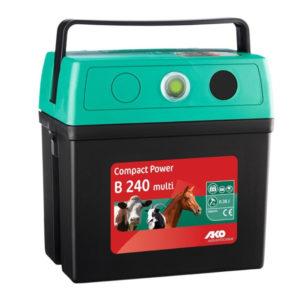 Schrikdraadapparaten en batterijen