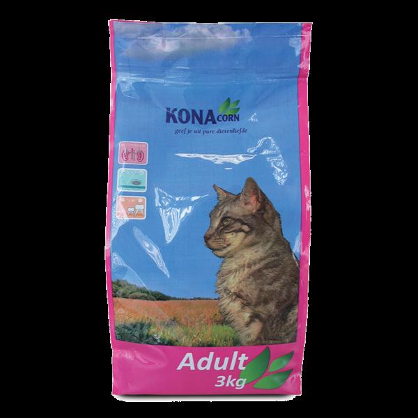 Morsink Dier & Hobby - konacorn kat adult brokken 3 kg 001323 konacorn kat adult brokken 3 kg konacorn kat adult brokken is gemaakt op basis van natuur