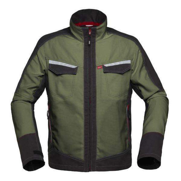 Morsink Dier & Hobby - Havep korte jas vest bosbouw groen