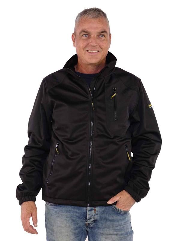 Morsink Dier & Hobby - storvik softshell werkjas zwart zeus voor2 1