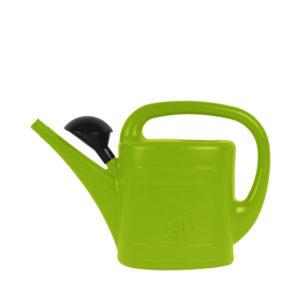 Lime groene gieter 5 liter met broes